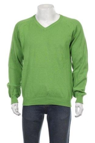 Ανδρικό πουλόβερ Esprit, Μέγεθος XL, Χρώμα Πράσινο, Τιμή 14,94€