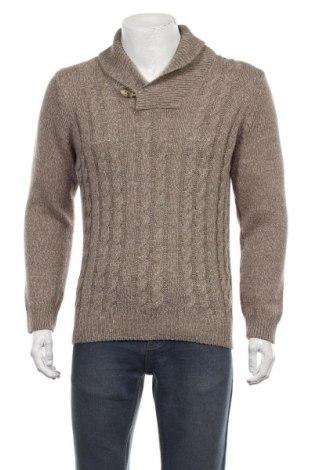 Ανδρικό πουλόβερ Glenwood, Μέγεθος L, Χρώμα Καφέ, 85%ακρυλικό, 15% μαλλί, Τιμή 16,89€
