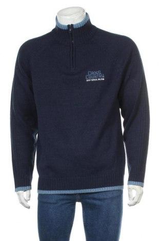 Ανδρικό πουλόβερ Identic, Μέγεθος XL, Χρώμα Μπλέ, Πολυακρυλικό, Τιμή 16,89€