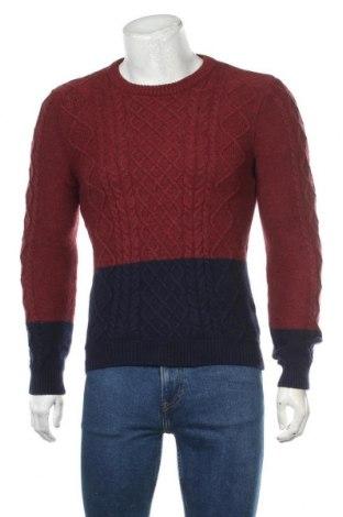 Ανδρικό πουλόβερ Jules, Μέγεθος S, Χρώμα Κόκκινο, 60% βαμβάκι, 30% πολυαμίδη, 10% μαλλί, Τιμή 18,19€