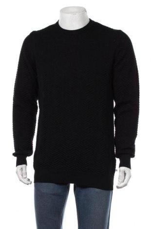 Pulover de bărbați Kronstadt, Mărime XL, Culoare Negru, Bumbac, Preț 131,30 Lei