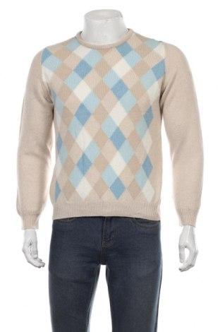 Ανδρικό πουλόβερ Lyle & Scott, Μέγεθος S, Χρώμα  Μπέζ, Μαλλί, Τιμή 71,21€