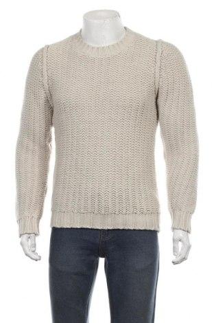 Ανδρικό πουλόβερ Officina 36, Μέγεθος L, Χρώμα Εκρού, 50%ακρυλικό, 50% μαλλί, Τιμή 18,84€