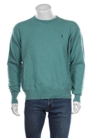 Pulover de bărbați Polo By Ralph Lauren, Mărime XL, Culoare Verde, Lână, Preț 149,21 Lei