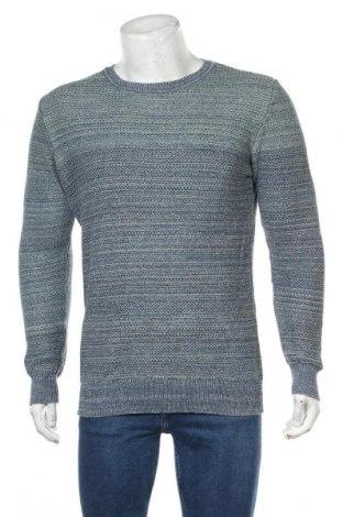 Pulover de bărbați Premium By Jack & Jones, Mărime L, Culoare Albastru, Bumbac, Preț 32,89 Lei