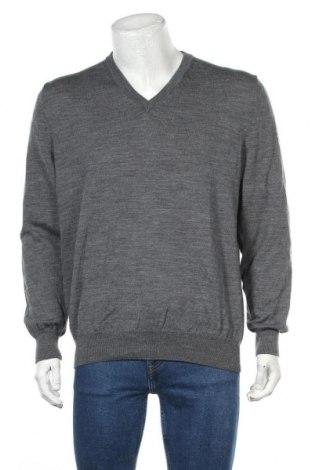 Мъжки пуловер Royal Class, Размер XL, Цвят Сив, 51% вълна, 49% памук, Цена 29,40лв.