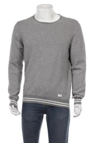Мъжки пуловер S.Oliver, Размер L, Цвят Сив, Памук, Цена 51,75лв.