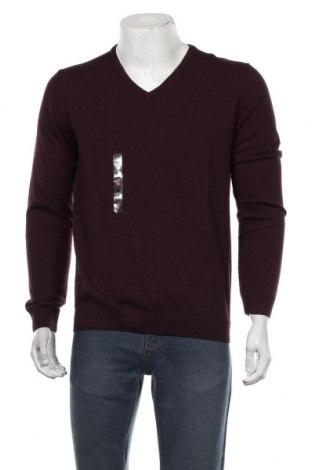 Мъжки пуловер S.Oliver, Размер M, Цвят Червен, Памук, Цена 42,00лв.