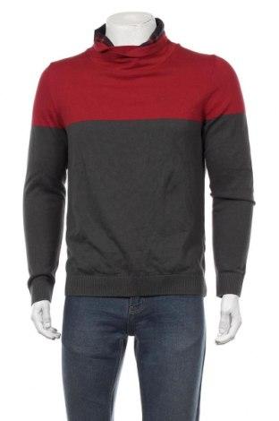 Мъжки пуловер S.Oliver, Размер M, Цвят Червен, Памук, Цена 59,25лв.