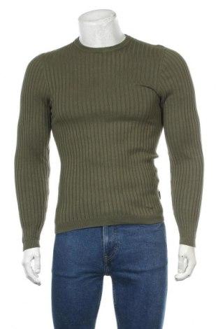 Мъжки пуловер Your Turn, Размер S, Цвят Зелен, Памук, Цена 35,91лв.
