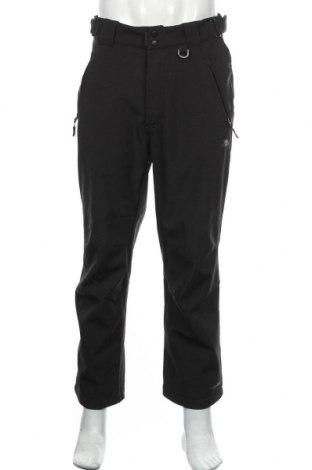 Pantaloni trening de bărbați Trespass, Mărime M, Culoare Negru, 94% poliester, 6% elastan, Preț 86,58 Lei