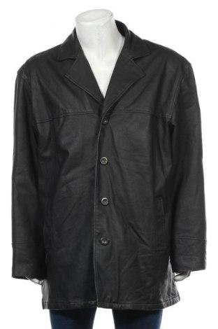 Мъжко кожено яке Avanti, Размер XXL, Цвят Черен, Естествена кожа, Цена 18,90лв.