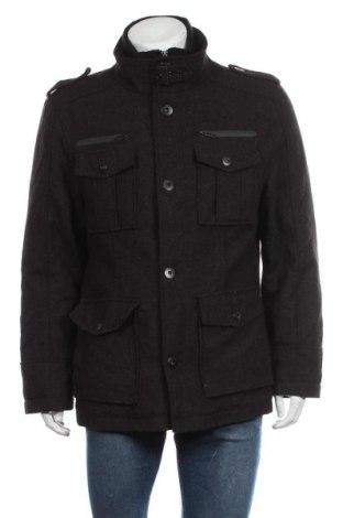 Мъжко палто Angelo Litrico, Размер M, Цвят Кафяв, Цена 36,86лв.