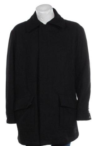 Мъжко палто Bexleys, Размер XL, Цвят Черен, 60% вълна, 40% полиестер, Цена 12,08лв.