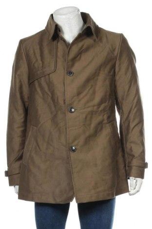 Palton de bărbați Drykorn for beautiful people, Mărime L, Culoare Bej, Bumbac, Preț 92,84 Lei