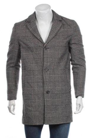 Palton de bărbați Originals By Jack & Jones, Mărime S, Culoare Negru, 75% poliester, 20% lână, 5% alte țesuturi, Preț 237,73 Lei