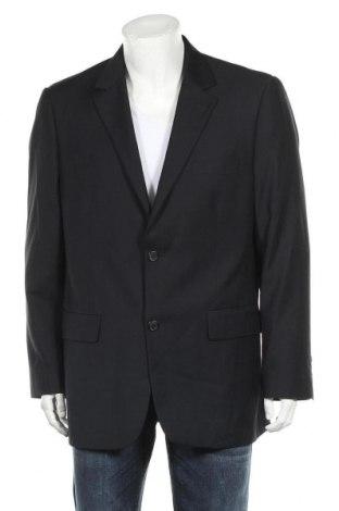Мъжко сако, Размер L, Цвят Син, 65% полиестер, 35% вискоза, Цена 7,09лв.