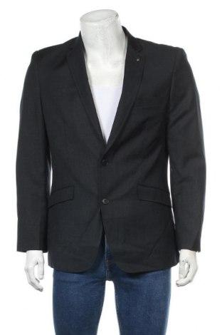Мъжко сако, Размер L, Цвят Черен, 55% полиестер, 45% вискоза, Цена 7,35лв.