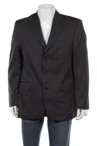 Мъжко сако, Размер XL, Цвят Черен, 50% памук, 50% полиестер, Цена 5,82лв.
