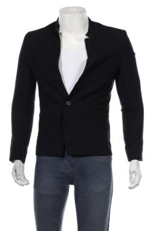 Мъжко сако, Размер S, Цвят Син, Цена 13,23лв.