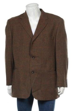 Ανδρικό σακάκι Camel Active, Μέγεθος XL, Χρώμα Καφέ, Μαλλί, Τιμή 31,18€