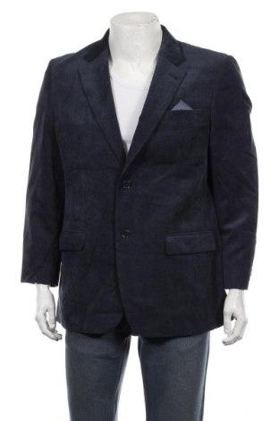 Мъжко сако Canda, Размер L, Цвят Син, 90% полиестер, 10% полиамид, Цена 7,35лв.