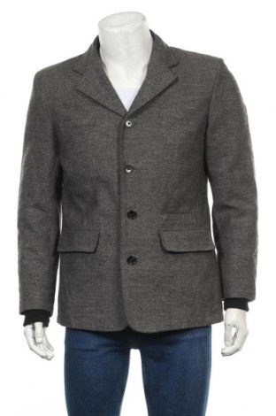 Мъжко сако Jack & Jones, Размер M, Цвят Сив, 77% памук, 23% вълна, Цена 11,81лв.