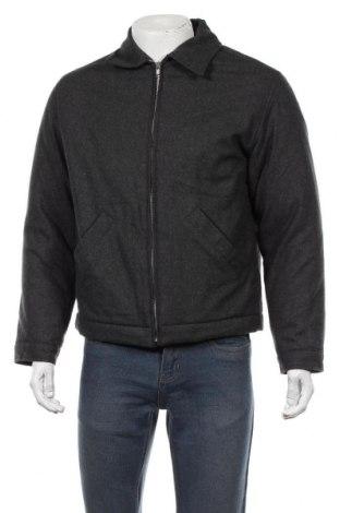 Мъжко яке, Размер S, Цвят Сив, 50% вискоза, 50% вълна, Цена 12,86лв.