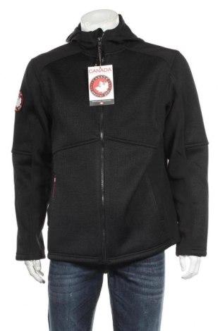 Мъжко яке Canada Weather Gear, Размер L, Цвят Черен, Полиестер, Цена 47,76лв.