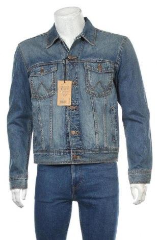 Pánská bunda  Wrangler, Velikost M, Barva Modrá, Bavlna, Cena  2141,00Kč