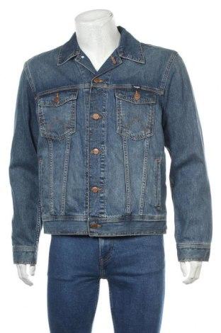 Pánská bunda  Wrangler, Velikost M, Barva Modrá, Bavlna, Cena  1427,00Kč