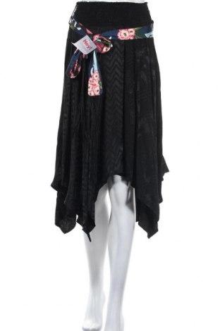 Φούστα Desigual, Μέγεθος M, Χρώμα Μαύρο, Βισκόζη, Τιμή 14,75€