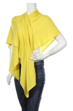 Пончо Comma,, Размер M, Цвят Жълт, 88% вълна, 12% кашмир, Цена 94,50лв.