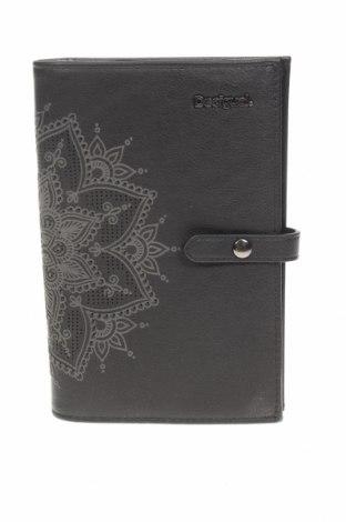 Πορτοφόλι Desigual, Χρώμα Μαύρο, Δερματίνη, Τιμή 30,54€
