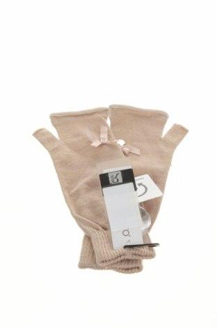 Mănuși Rinascimento, Culoare Bej, 80%acril, 12% poliuretan, 6% fire din metal, Preț 104,77 Lei