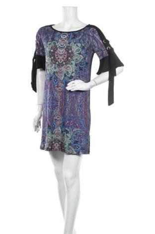 Šaty  Desigual, Velikost M, Barva Vícebarevné, 96% polyester, 4% elastan, Cena  324,00Kč