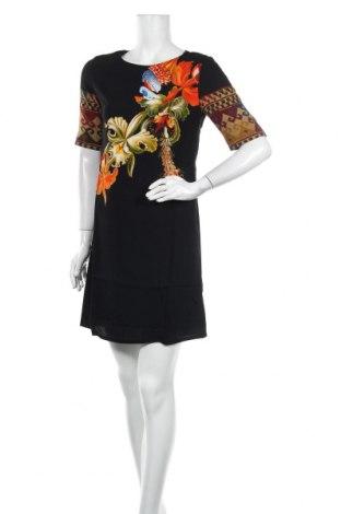 Φόρεμα Desigual by Christian Lacroix, Μέγεθος S, Χρώμα Μαύρο, Βισκόζη, Τιμή 52,27€