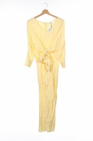 Рокля LeGer By Lena Gercke, Размер XS, Цвят Жълт, Вискоза, Цена 51,35лв.