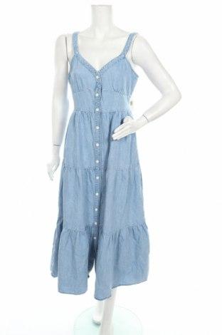 Φόρεμα Levi's, Μέγεθος M, Χρώμα Μπλέ, 63% βαμβάκι, 37% λινό, Τιμή 69,20€