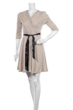 Φόρεμα Rinascimento, Μέγεθος S, Χρώμα  Μπέζ, 70% πολυεστέρας, 26% μεταλλικά νήματα, 4% ελαστάνη, Τιμή 33,02€