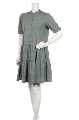 Рокля Vero Moda, Размер M, Цвят Зелен, Памук, Цена 42,00лв.