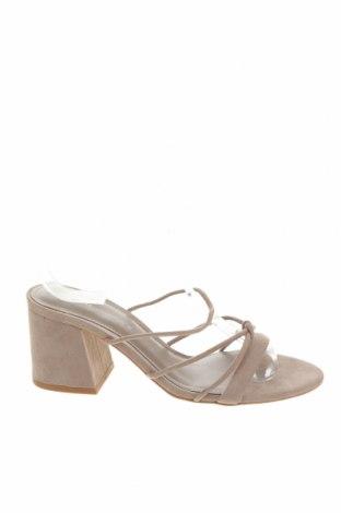 Pantofle Pull&Bear, Velikost 36, Barva Šedá, Textile , Cena  305,00Kč