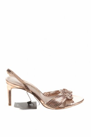 Сандали Zara, Размер 36, Цвят Розов, Еко кожа, Цена 14,75лв.