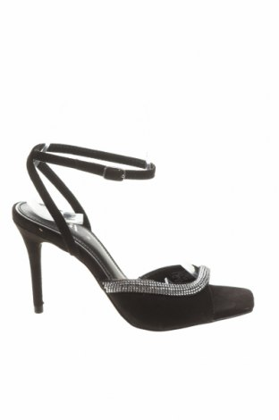 Sandály Zara, Velikost 36, Barva Černá, Textile , Cena  664,00Kč