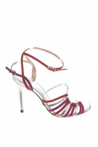 Σανδάλια Zara, Μέγεθος 37, Χρώμα Πολύχρωμο, Δερματίνη, Τιμή 22,43€