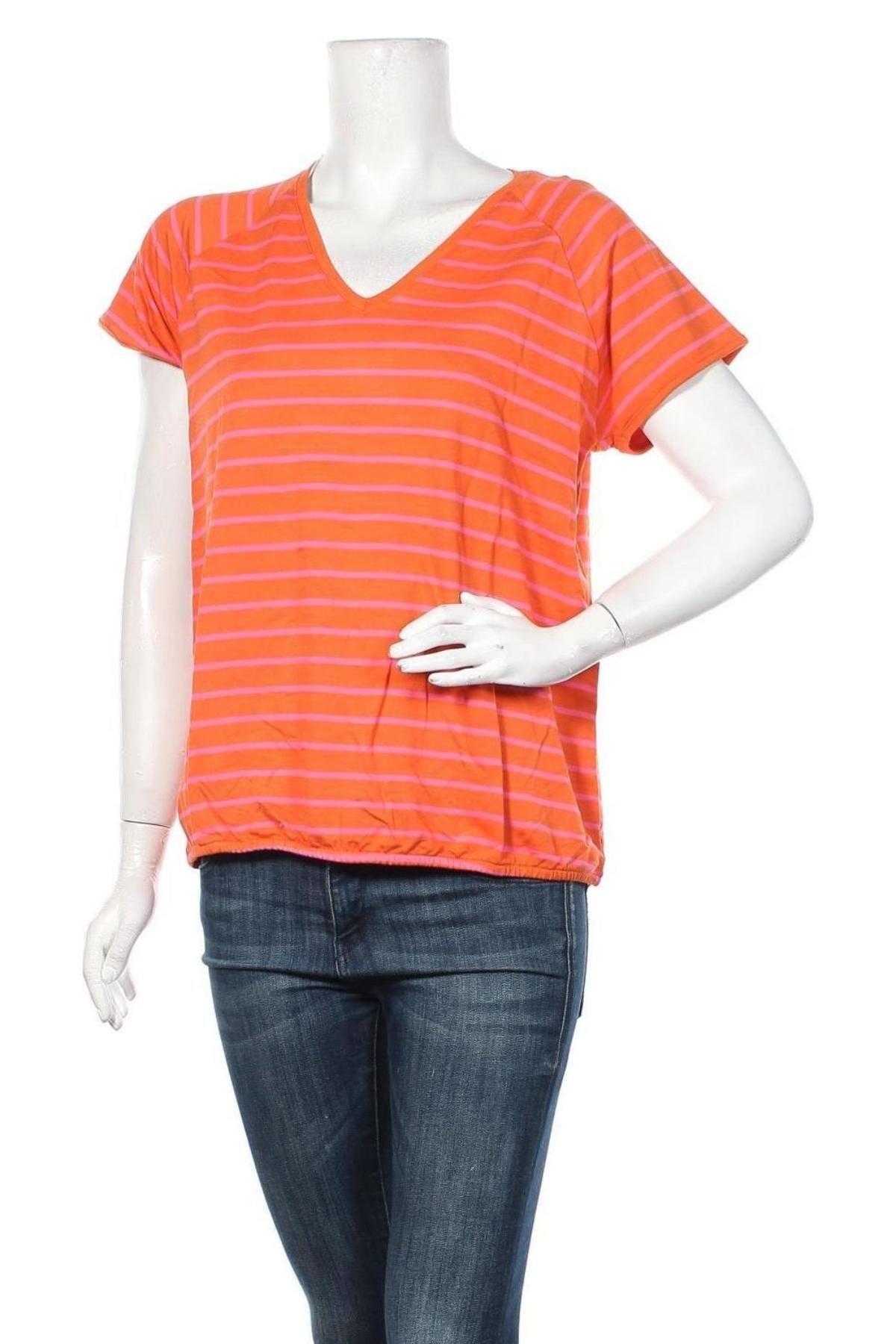 Дамска блуза Culture, Размер M, Цвят Оранжев, 95% вискоза, 5% еластан, Цена 19,50лв.