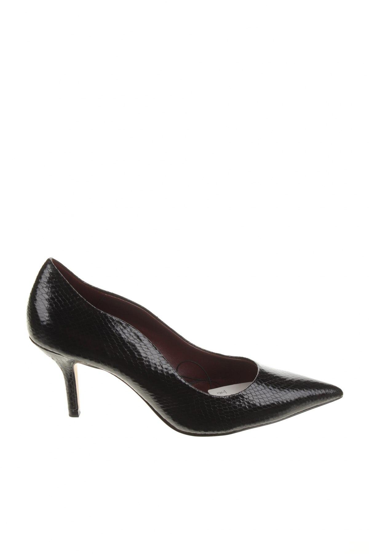 Încălțăminte de damă Zara, Mărime 36, Culoare Negru, Piele ecologică, Preț 102,14 Lei