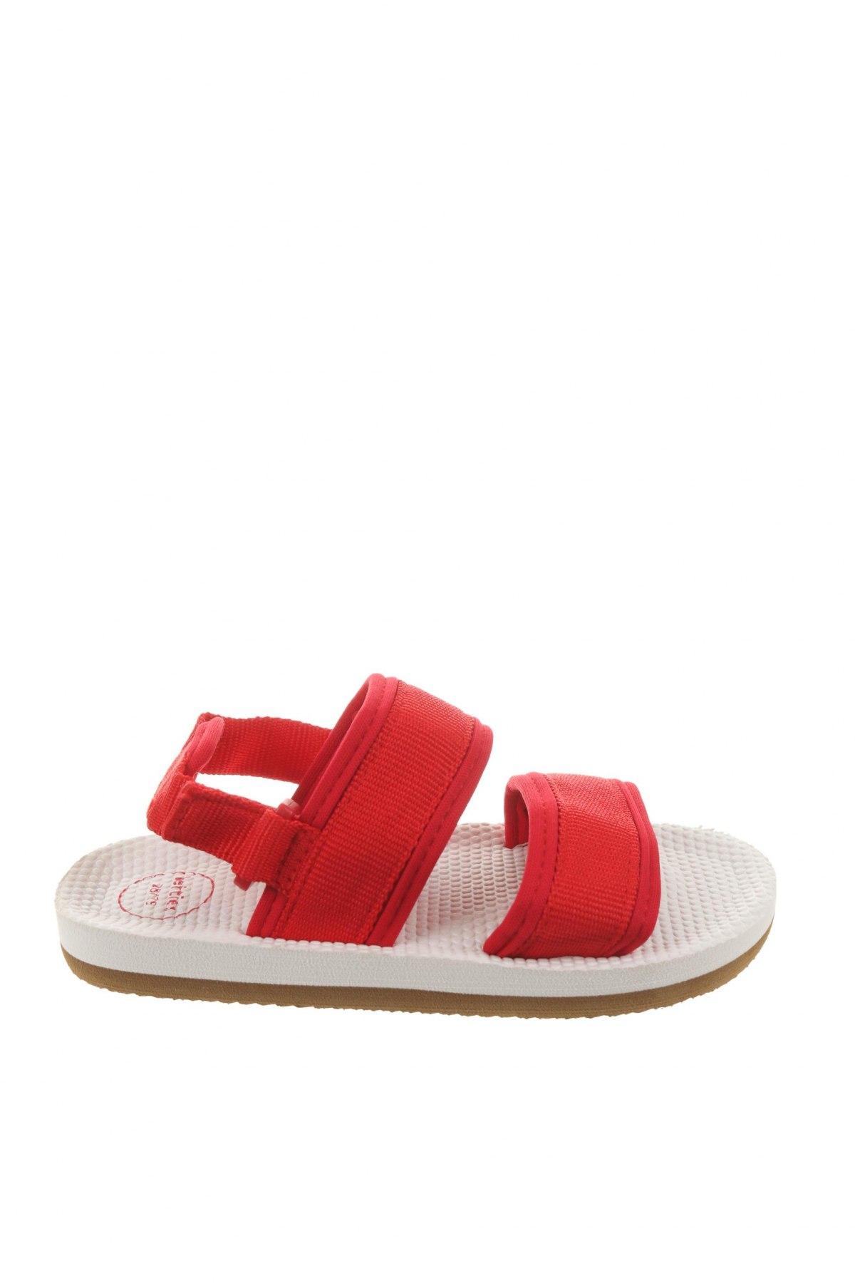 Детски сандали Lefties, Размер 28, Цвят Червен, Текстил, Цена 19,50лв.