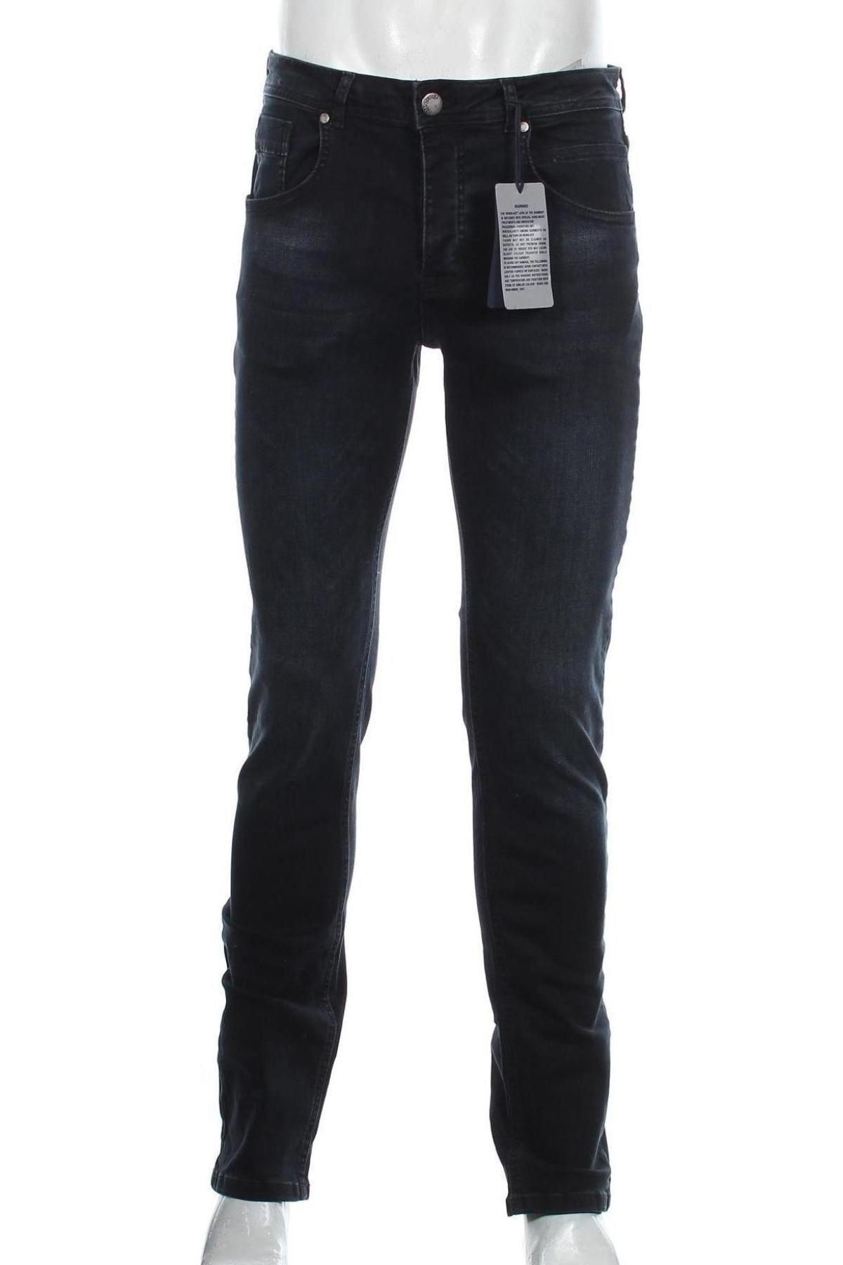 Мъжки дънки Paul Hunter, Размер M, Цвят Син, 98% памук, 2% еластан, Цена 62,55лв.