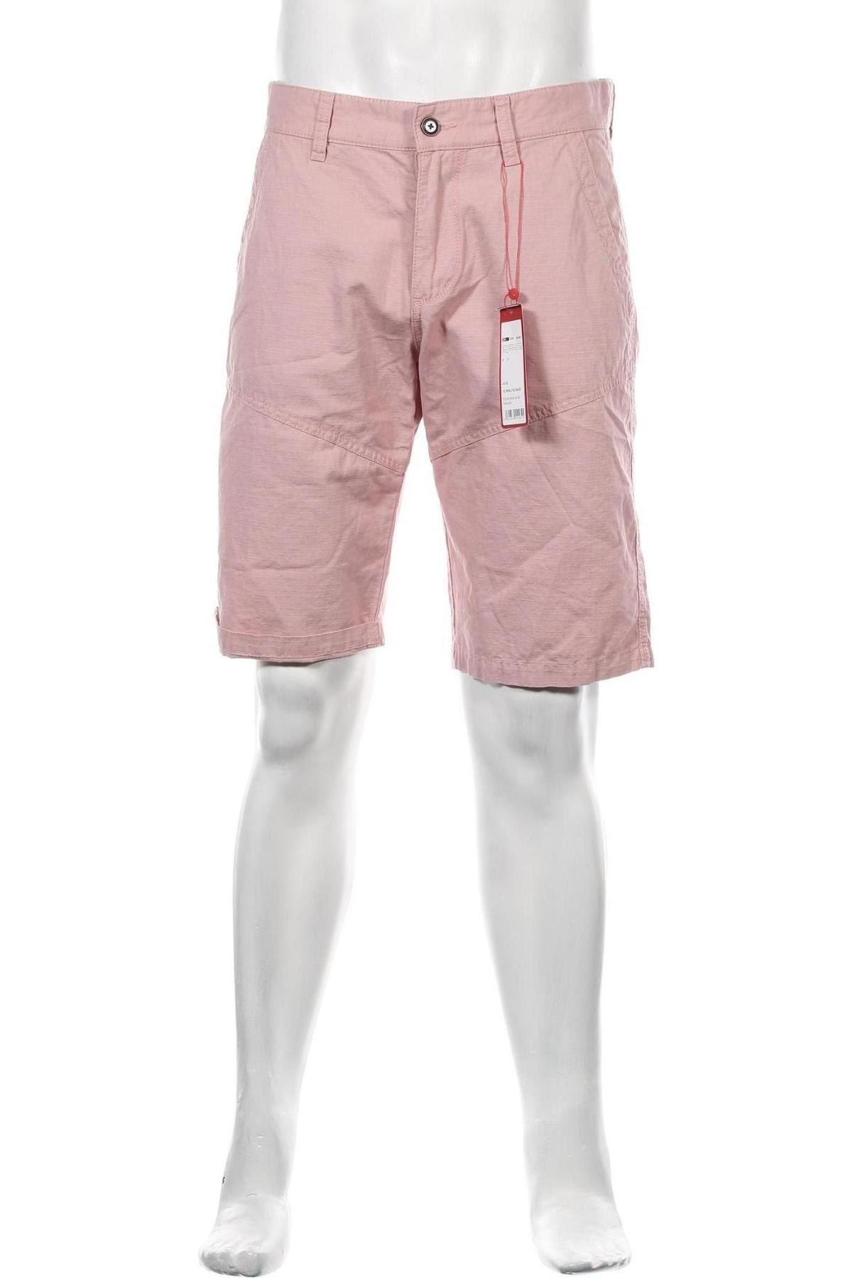 Pánské kraťasy S.Oliver, Velikost M, Barva Růžová, Bavlna, Cena  533,00Kč
